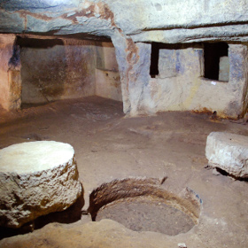 The underground olive mill - Caprarica